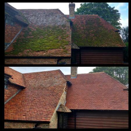 roof cleaning in Northampton