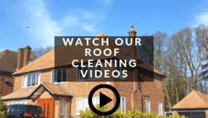 roof cleaning and moss removal in hitchin
