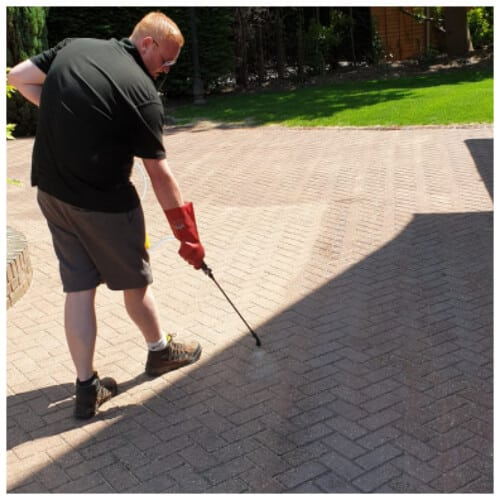 driveway and patio sealing in Marlow
